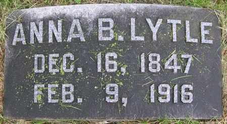 LA FOLLETTE LYTLE, ANNA B. - Douglas County, Nebraska | ANNA B. LA FOLLETTE LYTLE - Nebraska Gravestone Photos