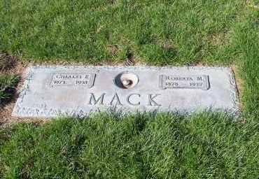 MACK, CHARLES F. - Douglas County, Nebraska | CHARLES F. MACK - Nebraska Gravestone Photos