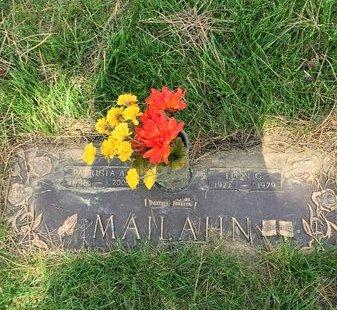 MAILAHN, LEON - Douglas County, Nebraska | LEON MAILAHN - Nebraska Gravestone Photos