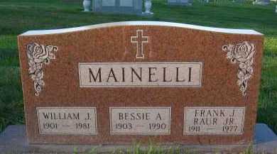 MAINELLI, BESSIE A. - Douglas County, Nebraska | BESSIE A. MAINELLI - Nebraska Gravestone Photos