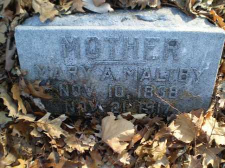 MALTBY, MARY A. - Douglas County, Nebraska   MARY A. MALTBY - Nebraska Gravestone Photos