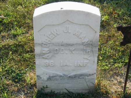 MANLEY, ANDREW J. - Douglas County, Nebraska   ANDREW J. MANLEY - Nebraska Gravestone Photos