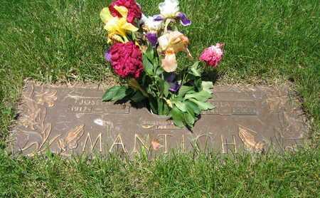 MANTICH, LOLA GRACE - Douglas County, Nebraska | LOLA GRACE MANTICH - Nebraska Gravestone Photos