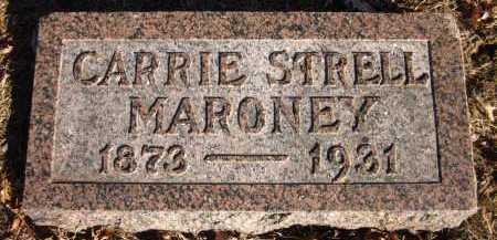 MARONEY, CARRIE STRELL - Douglas County, Nebraska   CARRIE STRELL MARONEY - Nebraska Gravestone Photos