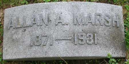 MARSH, ALLAN A. - Douglas County, Nebraska | ALLAN A. MARSH - Nebraska Gravestone Photos
