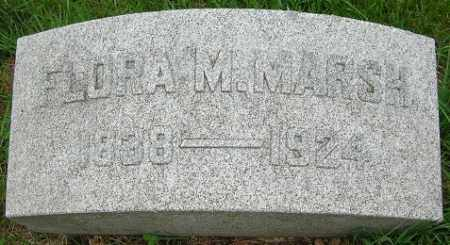 MARSH, FLORA M. - Douglas County, Nebraska | FLORA M. MARSH - Nebraska Gravestone Photos