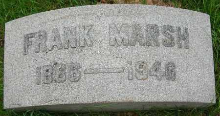 MARSH, FRANK - Douglas County, Nebraska | FRANK MARSH - Nebraska Gravestone Photos