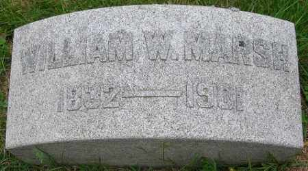 MARSH, WILLIAM WALLACE - Douglas County, Nebraska | WILLIAM WALLACE MARSH - Nebraska Gravestone Photos