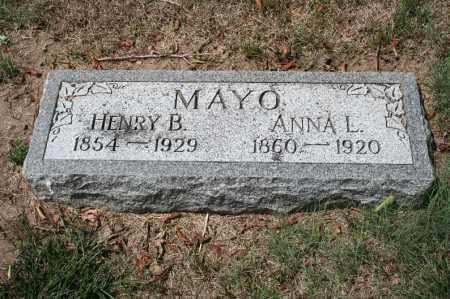 MAYO, ANNA L. - Douglas County, Nebraska | ANNA L. MAYO - Nebraska Gravestone Photos