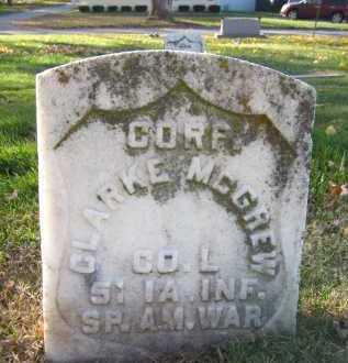 MC GREW, CLARKE - Douglas County, Nebraska   CLARKE MC GREW - Nebraska Gravestone Photos