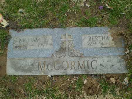 MATHEWS MCCORMIC, BERTHA C - Douglas County, Nebraska | BERTHA C MATHEWS MCCORMIC - Nebraska Gravestone Photos