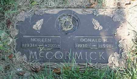 MC CORMICK, DONALD H. - Douglas County, Nebraska | DONALD H. MC CORMICK - Nebraska Gravestone Photos