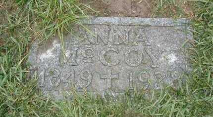MC COY, ANNA - Douglas County, Nebraska | ANNA MC COY - Nebraska Gravestone Photos