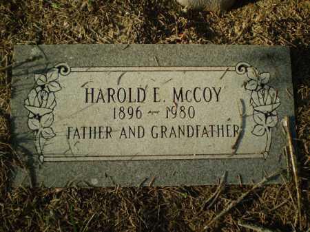 MC COY, HAROLD E - Douglas County, Nebraska | HAROLD E MC COY - Nebraska Gravestone Photos