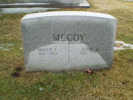 MC COY, HALLY L - Douglas County, Nebraska | HALLY L MC COY - Nebraska Gravestone Photos