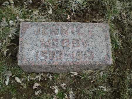 MC COY, JENNIE E - Douglas County, Nebraska | JENNIE E MC COY - Nebraska Gravestone Photos