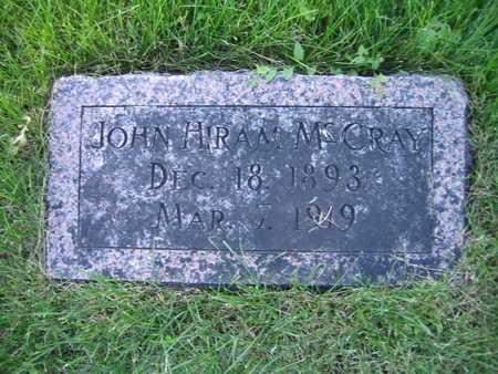 MCCRAY, JOHN HIRAM - Douglas County, Nebraska | JOHN HIRAM MCCRAY - Nebraska Gravestone Photos