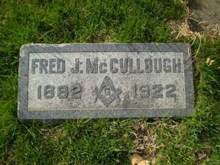 MC CULLOUGH, FRED J. - Douglas County, Nebraska | FRED J. MC CULLOUGH - Nebraska Gravestone Photos