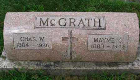 MC GRATH, MAYME - Douglas County, Nebraska | MAYME MC GRATH - Nebraska Gravestone Photos