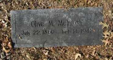 MC INTOSH, OLIVE M - Douglas County, Nebraska   OLIVE M MC INTOSH - Nebraska Gravestone Photos