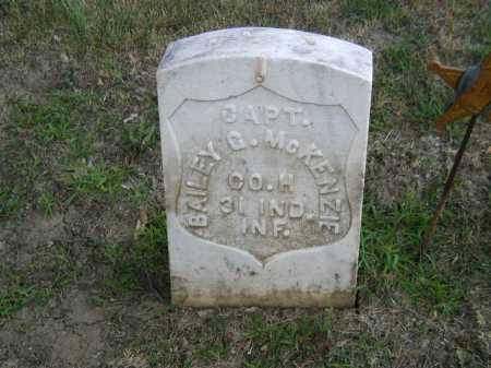 MC KENZIE, BAILEY G - Douglas County, Nebraska | BAILEY G MC KENZIE - Nebraska Gravestone Photos