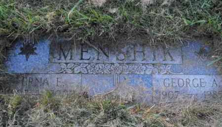 MENSHIK, LYDIA - Douglas County, Nebraska | LYDIA MENSHIK - Nebraska Gravestone Photos