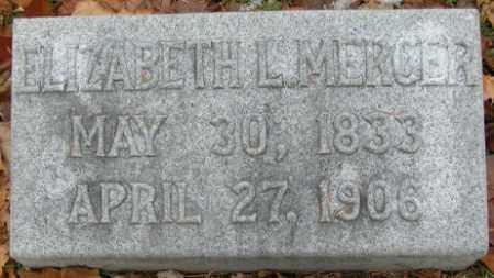 MERCER, ELIZABETH L (LAMAR) - Douglas County, Nebraska | ELIZABETH L (LAMAR) MERCER - Nebraska Gravestone Photos
