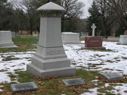 MERCER, FAMILY - Douglas County, Nebraska   FAMILY MERCER - Nebraska Gravestone Photos