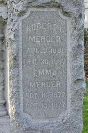 MERCER, ROBERT L. - Douglas County, Nebraska | ROBERT L. MERCER - Nebraska Gravestone Photos
