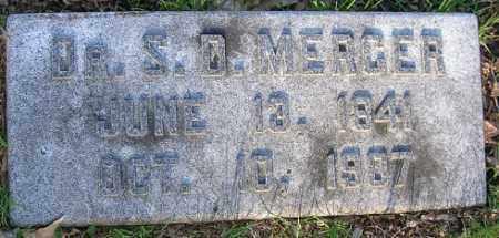MERCER, SAMUEL D. - Douglas County, Nebraska | SAMUEL D. MERCER - Nebraska Gravestone Photos