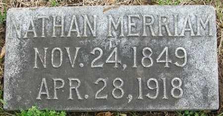 MERRIAM, NATHAN - Douglas County, Nebraska   NATHAN MERRIAM - Nebraska Gravestone Photos