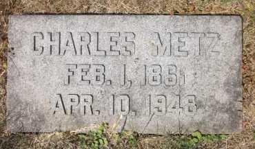 METZ, CHARLES - Douglas County, Nebraska   CHARLES METZ - Nebraska Gravestone Photos