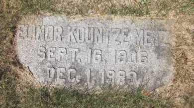METZ, ELINOR ESTABROOK - Douglas County, Nebraska | ELINOR ESTABROOK METZ - Nebraska Gravestone Photos