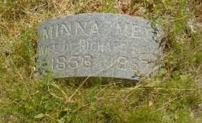 METZ, MINNA - Douglas County, Nebraska | MINNA METZ - Nebraska Gravestone Photos