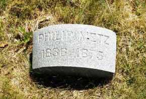 METZ, PHILIP - Douglas County, Nebraska | PHILIP METZ - Nebraska Gravestone Photos