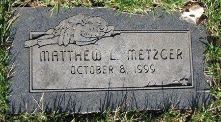 METZGER, MATTHEW L. - Douglas County, Nebraska | MATTHEW L. METZGER - Nebraska Gravestone Photos