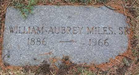 MILES, WILLIAM AUBREY, SR. - Douglas County, Nebraska | WILLIAM AUBREY, SR. MILES - Nebraska Gravestone Photos