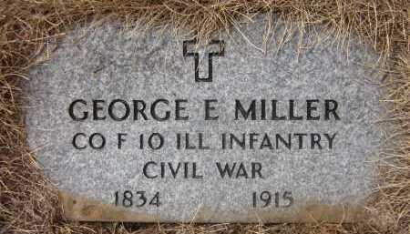MILLER, GEORGE E. - Douglas County, Nebraska | GEORGE E. MILLER - Nebraska Gravestone Photos