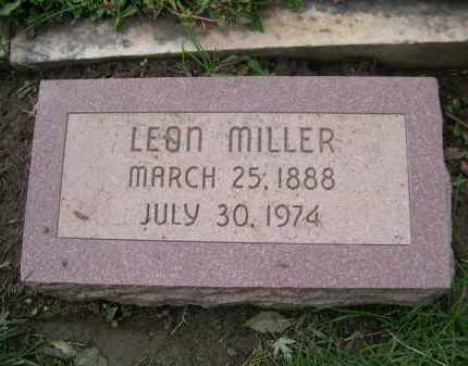 MILLER, LEON - Douglas County, Nebraska   LEON MILLER - Nebraska Gravestone Photos