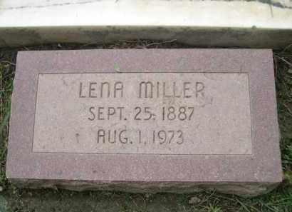 MILLER, LENA - Douglas County, Nebraska | LENA MILLER - Nebraska Gravestone Photos
