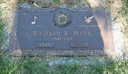 MISER, RICHARD A. - Douglas County, Nebraska | RICHARD A. MISER - Nebraska Gravestone Photos