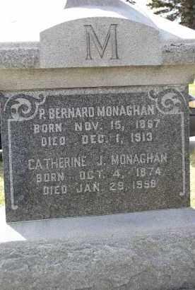 MONAGHAN, CATHERINE J. - Douglas County, Nebraska | CATHERINE J. MONAGHAN - Nebraska Gravestone Photos