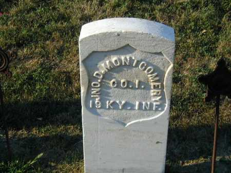 MONTGOMERY, JOHN D - Douglas County, Nebraska | JOHN D MONTGOMERY - Nebraska Gravestone Photos