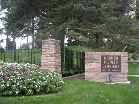 *MORMAN PIONEER CEMETERY, SIGN FOR - Douglas County, Nebraska | SIGN FOR *MORMAN PIONEER CEMETERY - Nebraska Gravestone Photos