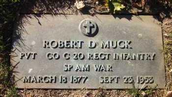 MUCK, ROBERT D. - Douglas County, Nebraska   ROBERT D. MUCK - Nebraska Gravestone Photos