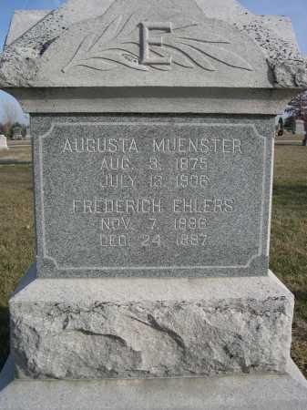 EHLERS, FREDERICH - Douglas County, Nebraska   FREDERICH EHLERS - Nebraska Gravestone Photos