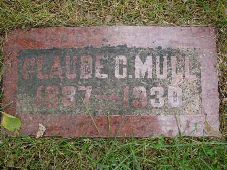 MULL, CLAUDE C - Douglas County, Nebraska | CLAUDE C MULL - Nebraska Gravestone Photos