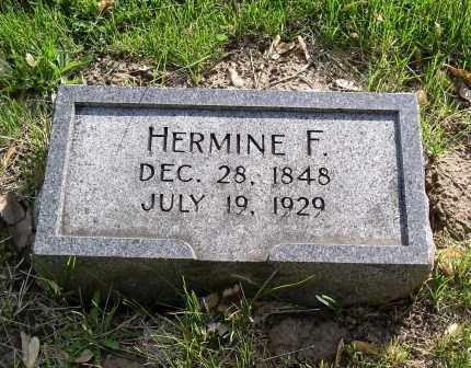 MULLER, HERMINE F. - Douglas County, Nebraska | HERMINE F. MULLER - Nebraska Gravestone Photos
