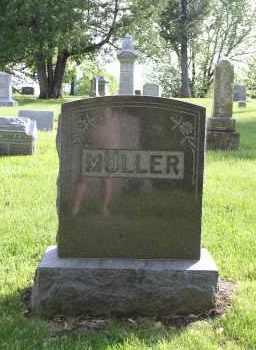 MULLER, FAMILY - Douglas County, Nebraska   FAMILY MULLER - Nebraska Gravestone Photos