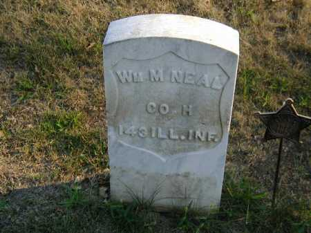 NEAL, WILLIAM M - Douglas County, Nebraska | WILLIAM M NEAL - Nebraska Gravestone Photos